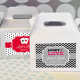 """A Lucky Pair"" Vegas Mini Gable Boxes (set of 12)"