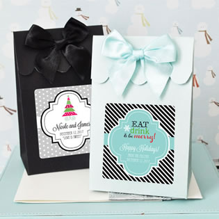 Winter Candy Box Favors (Set of 12)