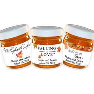 Personalized Honey Favors - Fall Theme (4 designs available)