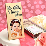 Gold Mis Quince Frame