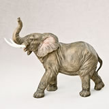 Large elephant - natural looking from gifts by fashioncraft
