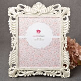 Brushed Gold Baroque Ivory 8 x 10 Frame