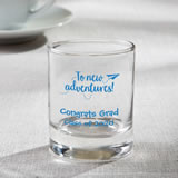 Personalized Shot glass or votive from fashioncraft - graduation design