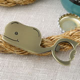 Fun Whale themed metal bottle opener