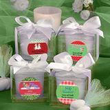 Design Your Own Collection Candle Favors - Holiday Themed