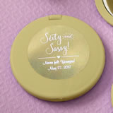 Personalized metallics collection compact mirror from fashioncraft