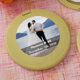Personalized Expressions Collection Gold Compact mirror