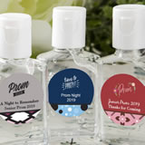 personalized expressions hand sanitizer favors - prom design 30 ml size