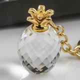 Choice Crystal Pineapple key chain From The Warm Welcome Collection