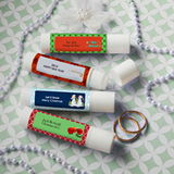 Design Your Own Collection Lip Balm Favors - Holiday Themed
