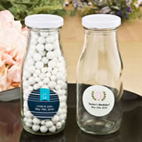 Monogram  Collection milk bottles