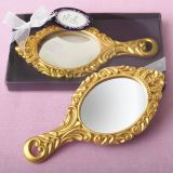 Gold 'Make It Royal' Princess Hand Mirror