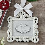 White Baroque ornament / picture frame