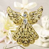 magnificent Gold angel ornament from fashioncraft