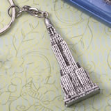 Empire State Building skyscrapers keychain