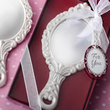 Royal Princess themed hand mirror
