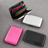 Aluminum wallets in magnificent solid colors