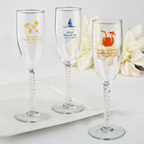 Personalized Champagne Wedding Favors - Exclusive Themed Designs
