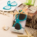Fun Sunglass themed luggage tags