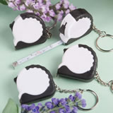 <em>Perfectly Plain Collection</em> Key Chain/Measuring Tape Favors