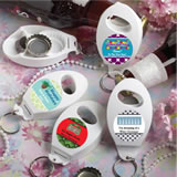 Design Your Own Collection Bottle Opener & Key Chain Favors - Holiday Themed