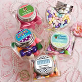 Design Your Own Collection Heart Shaped Glass Jars - Holiday Themed