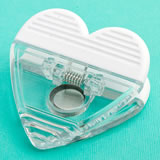 <em>Perfectly Plain Collection</em> Heart Shaped Memo Clip Favors