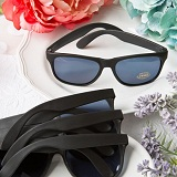 Perfectly Plain Collection cool black sunglasses