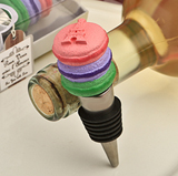 Deliciously-Different Macaroon Design Wine Bottle Stoppers