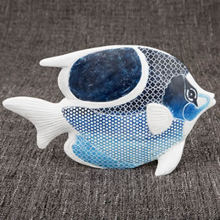 Sea Fish figurine - decorative standing object From Gifts By Fashioncraft