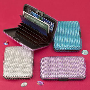Bling Wallet, Credit card holder From Gifts By Fashioncraft