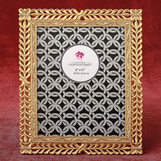 Magnificent Gold Lattice 8 x 10 frame from gifts by fashioncraft