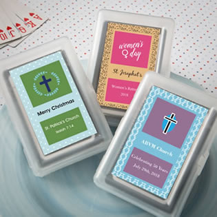 Playing Card Favors - With Personalized Box
