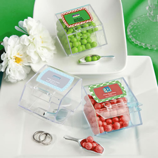 Design Your Own Collection  candy bin & scoop favors - Holiday Themed