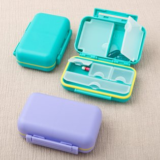 Stylish Multi compartment pill box from gifts by fashioncraft