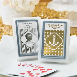 Personalized Playing Card Wedding Favors | Unique Favors