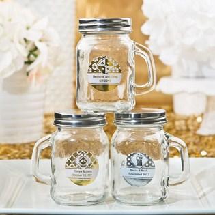 Glass mason jar favors do it yourself wedding favors glass mason jar favors enlarge corner peel corner peel solutioingenieria Gallery