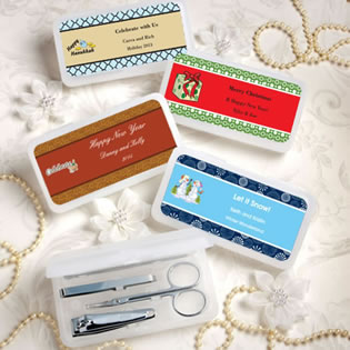 Design Your Own Collection  Travel Manicure Sets - Holiday Themed