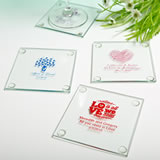 Personalized Glass Coaster with Exclusive Designs