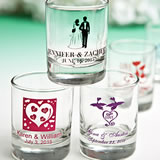 Personalized Shot Glass Favors - ON SALE with Exclusive Designs