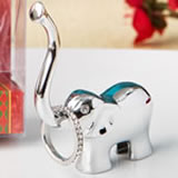 Silver Good luck elephant Ring and Jewelry holder