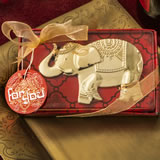 Good Fortune Elephant design gold metal bottle opener