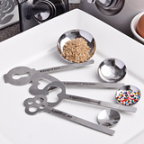 """Keys to Love Beyond Measure"" measuring spoon sets.."