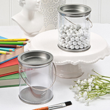 Perfectly plain Large Paint Can Candy Tin