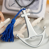 Navy-inspired anchor favors