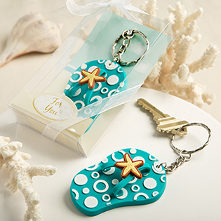 Fun and Funky Flip Flop Key Chains From Fashioncraft