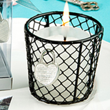 Romantic Love Locks  Candle Favors