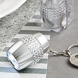 Bling Collection LED key chain flashlight  from Fashioncraft
