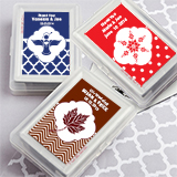 Playing Cards Favors - with Personalized Case.  <em>Simply Stylish</em>