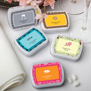 Personalized Mint Tin Favors